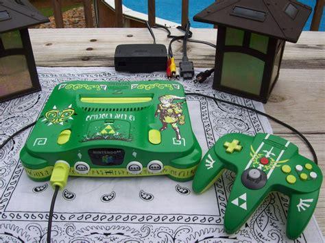 Custom Majoras Mask Nintendo 64 In Dark And Lime Green