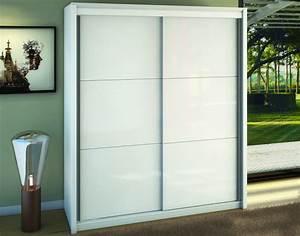 Armoire Chambre Profondeur 50 : armoire 2 portes coulissantes ref 30362 meubles husson ~ Edinachiropracticcenter.com Idées de Décoration