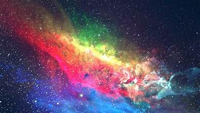 Galaxy Colorful Space Widescreen