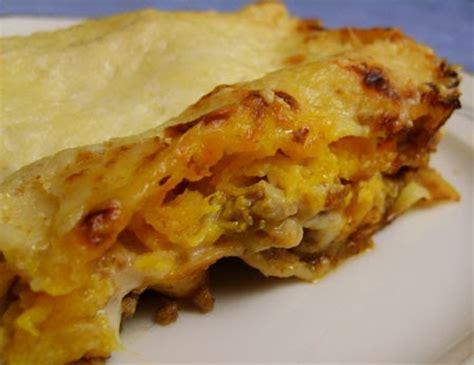 cuisiner une courge butternut le palais de lunye lasagnes à la courge butternut une gourmandise