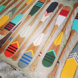canoe dig these handpainted paddles by northern
