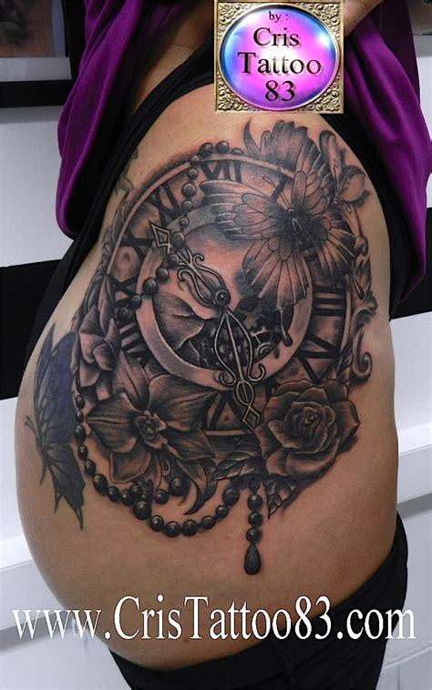 Tatouage Rose Hanche  Galerie Tatouage