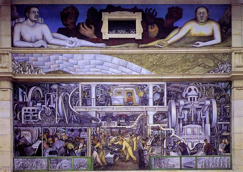 detroit industry south wall diego rivera wikiart org encyclopedia of visual arts