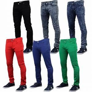 Mens Skinny Jeans Soul Star Slim Fit Stretch Denim Pants Trousers Tapered New | eBay