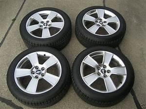 07 Mustang Gt 18 U201d Polished Fanblade Wheels  U0026 Tires