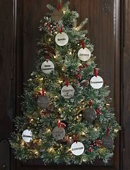 tree names christmas decorations