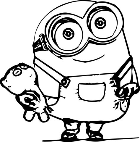 awesome minions coloring pages wecoloringpage pinterest minion characters coloring books