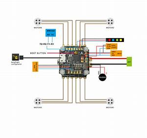 Hglrc Xjb V2 F3 Flytower Flight Controller