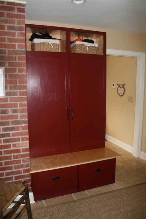 mudroom lockers  doors entry rustic  coat closet coat cubby beeyoutifullifecom