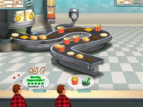 jeu de cuisine restaurant jeu burger shop à télécharger en français gratuit jouer
