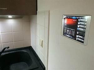 Smart Home Beleuchtung : tablet wandeinbau ipad mini als smart home interface ~ Lizthompson.info Haus und Dekorationen