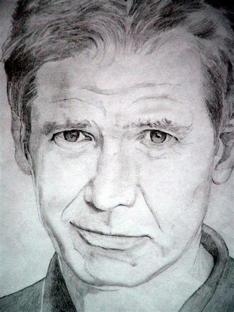 harrison ford medium drawing  robert lance