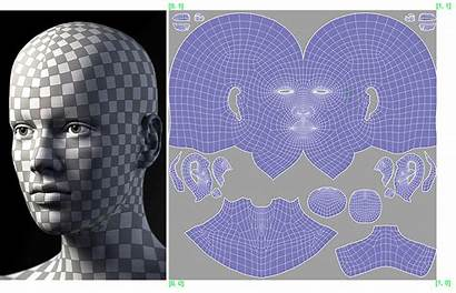 Uv Head Mapping Theory Wrap 3d Trying