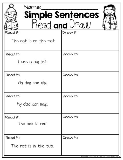 simple sentences with sight words and cvc words read and 427 | 94b937ce7e2c45be67eb5040c0352b47
