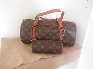 Louis Vuitton Handtasche : louis vuitton papillon vintage handtasche und kleine ~ Watch28wear.com Haus und Dekorationen