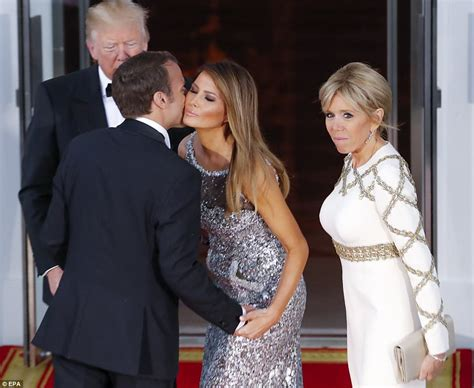 Melania Trump And French First Lady Soar in Heels for Tree Planting Ahead of State Dinner - YouTube