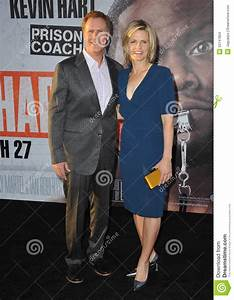 Will Ferrell & Viveca Paulin Editorial Stock Image - Image ...