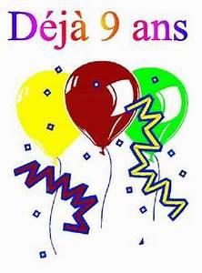 Carte Anniversaire Fille 9 Ans : 9 ans le cin de fred ~ Melissatoandfro.com Idées de Décoration