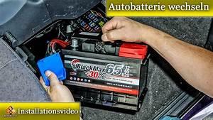 Autobatterie Wechseln Anleitung : autobatterie wechseln so geht 39 s ausf hrlich erkl rt von m1molter youtube ~ Watch28wear.com Haus und Dekorationen
