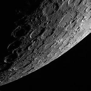 Sunlit Side of the Planet Mercury   NASA
