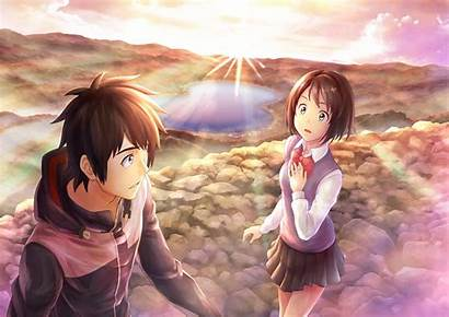 Mitsuha Wa Anime Miyamizu Na Kimi Wallpapers