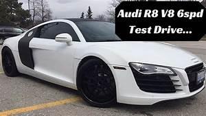 So I Test Drove A Audi R8 V8 Manual