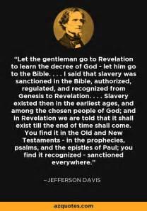 jefferson davis quote   gentleman   revelation