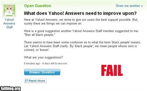 What Is A Meme Yahoo Answers - ban all black people fail 7tattoo