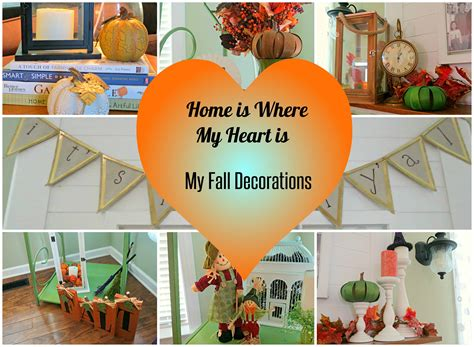 My Fall Decorations