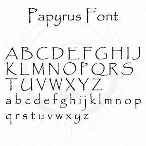 Algerian font 2017 2018 best cars reviews for Papyrus letters