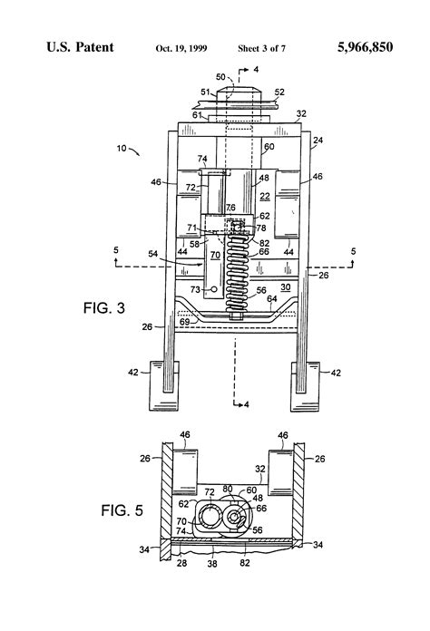 Patent US5966850 - Hydraulic latch pin assembly for