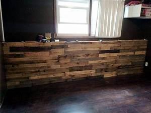 Large DIY Pallet Indoor Bar 99 Pallets
