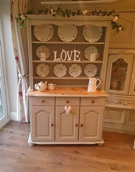 shabby chic kitchen hutch pine shabby chic kitchen dresser sideboard cabinet