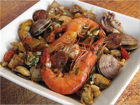 poissons cuisine recette de cuisine parillada de poissons