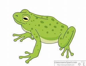 Frog Clipart : green-tree-frog-914 : Classroom Clipart