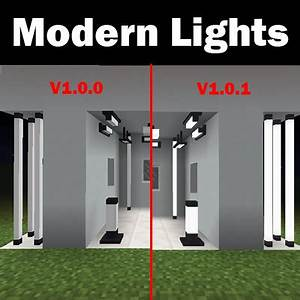 Overview Modern Lights Mods Projects Minecraft