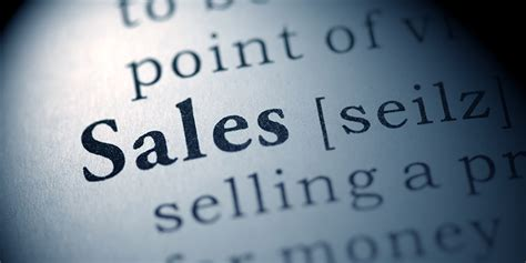 What is Sales? Let's Break Down a Transaction Between You ...