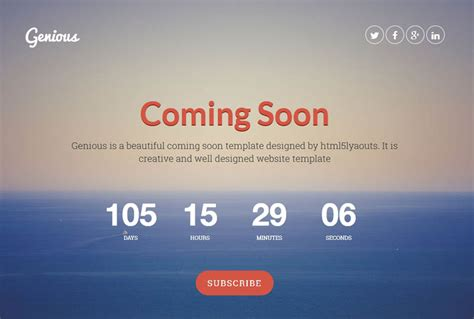 Coming Soon Template 25 Best Coming Soon Html Templates For Free And