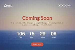 25 Best Coming Soon Html Templates For Free Download And