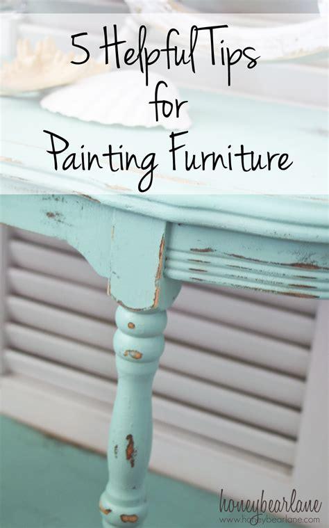 tips  painting furniture honeybear lane