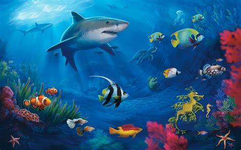 levende vis wallpaper hd
