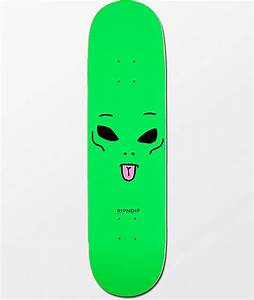 RIPNDIP We Out Here 825quot Skateboard Deck Zumiez