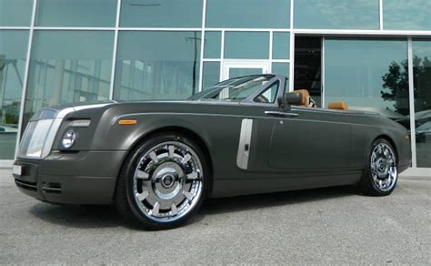 matte green maserati matte green rolls royce drophead is fit for a military