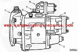 China Chongqing Engine Parts 4951355 Fuel Pump Pt Pump