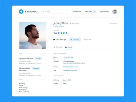 best 25 user profile ideas on cv