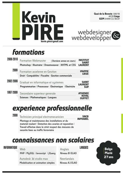35 brilliant resume designs dzineblog