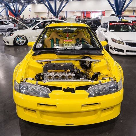 Hello Yellow! K-powered Integra Type