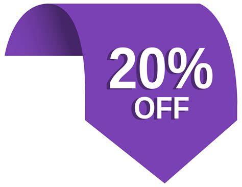 20%off Label Png Clip-art Image