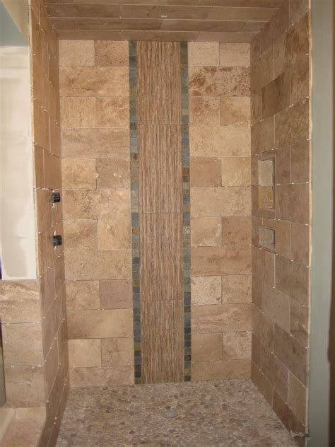 ideas captivating tile shower designs  creative