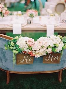 18, Vintage, Wedding, Sweetheart, Table, Decoration, Ideas